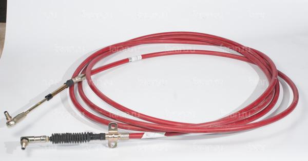 Трос КПП 17MK4-10645  higer 6885 и хайгер 6928 длина 6450 красный