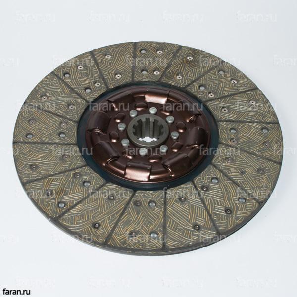 Диск сцепления (16HB1-01130), сцепление хайгер, диск хигер