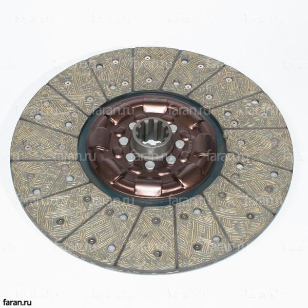 Диск сцепления (16G13-01130-PCT), диск сцепления 395, диск сцепления хайгер 6885, 6840, 6891