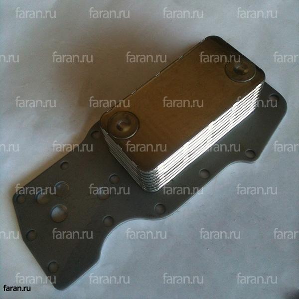 теплообменник, теплообменный элемент, мослоохладитель для двигателя Cummins ISDe (6 цилиндров)