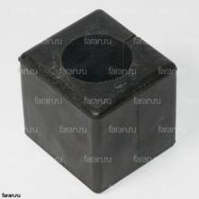 Втулка стабилизатора  квадратная 29KB1-03521 черная подушка хайгер 6840/6885/6109