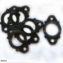 Прокладка выпускного коллектора 10G81-08612 наборная коллектора higer 6720/6885/6840/6891/6119 четырехслойная
